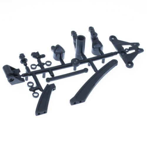 Redcat Racing Parts Redcat Racing TM-34 Plastic Servo Saver Arms, Drag Link, Chassis Braces Set