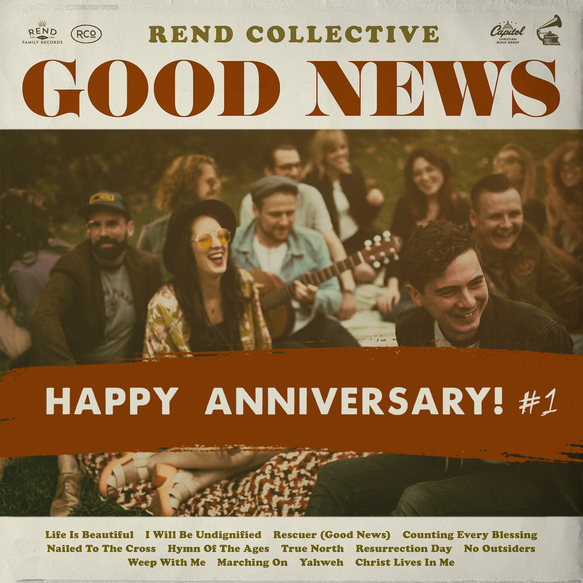 OUR GOOD NEWS ALBUM IS ONE YEARS OLD TODAY!