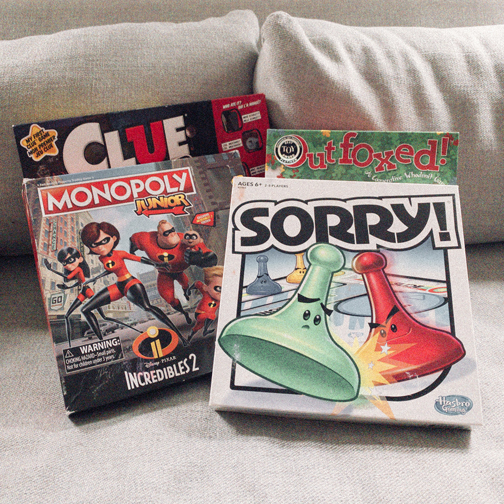 Great Games for Family Fun!