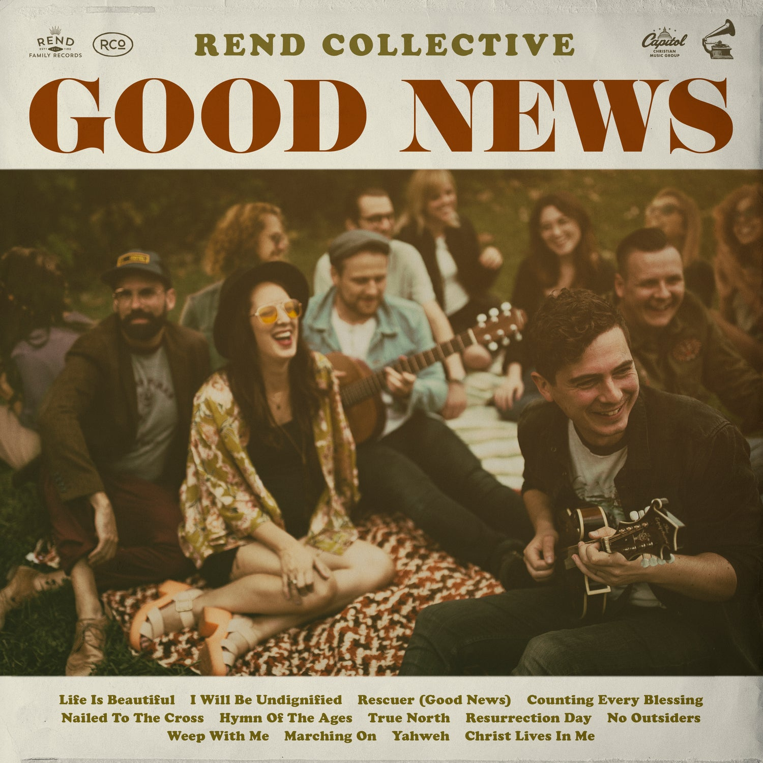 New album 'Good News' by folksy worship band from Northern Ireland