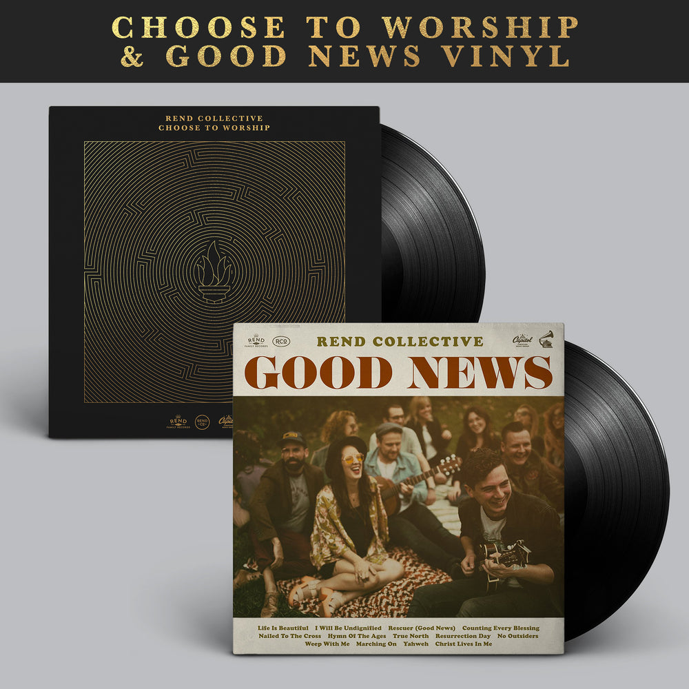 Choose to Worship & Good News Vinyl Bundle