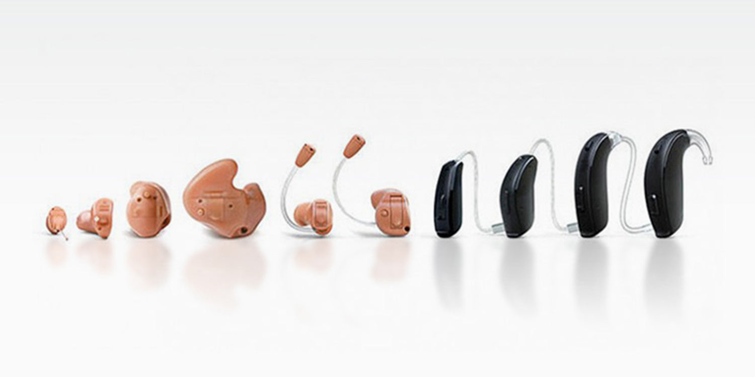 hearing aid types of hearing aids