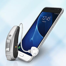 Smartphone-ready hearing aids