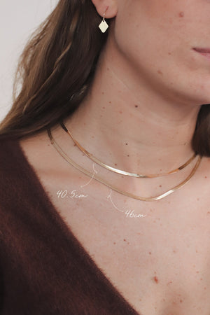 Cléo Necklace Gold