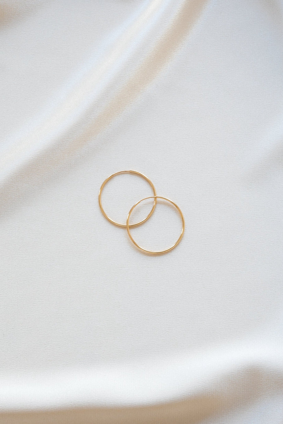 Hoops 30mm Gold