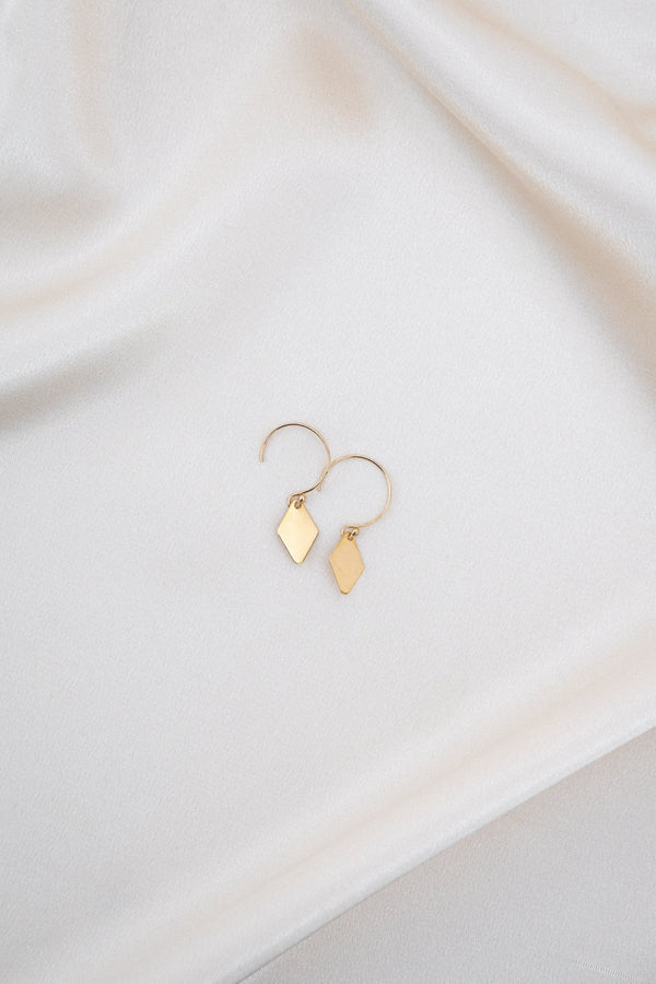 Cielo Earrings Gold