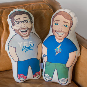 Jake and Amir Pillow