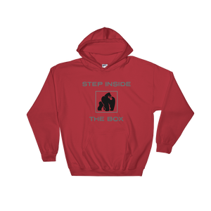 RED SITBOX SWEATSHIRT