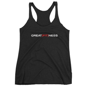 WOMEN'S GREAT[FIT]NESS TANK - BLACK