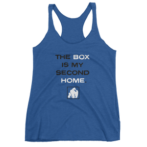 "WOMEN'S ""SECOND HOME"" TANKS - ROYAL"