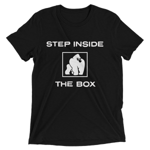 STEP INSIDE THE BOX - BLACK
