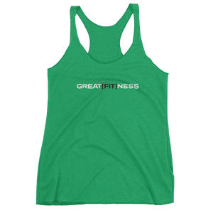 WOMEN'S GREAT[FIT]NESS TANK - GREEN
