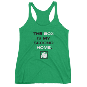 "WOMEN'S ""SECOND HOME"" TANKS - GREEN"