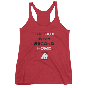 "WOMEN'S ""SECOND HOME"" TANKS - RED"