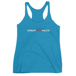 WOMEN'S GREAT[FIT]NESS TANK - TURQUOISE