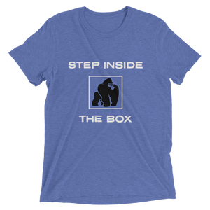STEP INSIDE THE BOX - BLUE