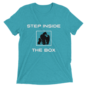 STEP INSIDE THE BOX - TEAL