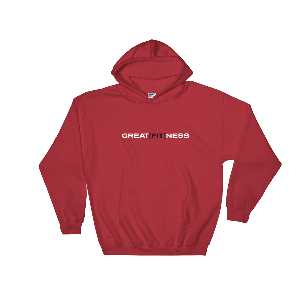 RED GREAT[FIT]NESS SWEATSHIRTS