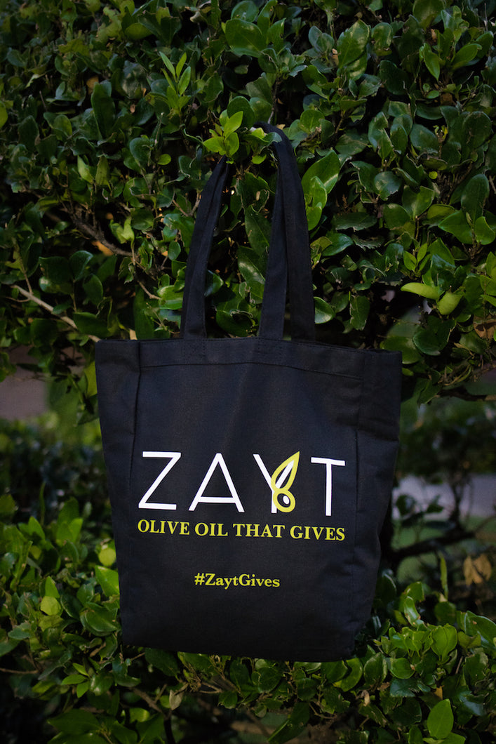 Zayt Canvas Tote Bag