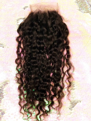 Indian Deep Curly Closure