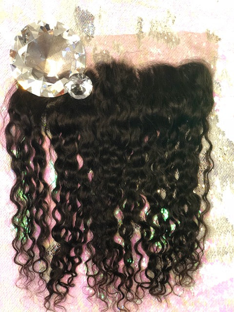 Indian Deep Curly Frontal