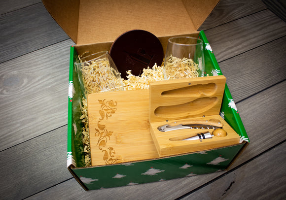 Wine & Cheese Lovers Gift Package