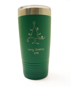Christmas Tree Tumbler- 20 ounce