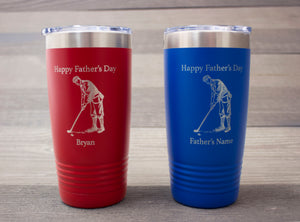 Personalized Father's Day Tumbler