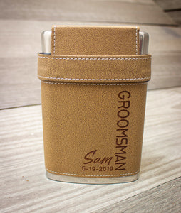 Wedding Party Flask