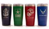 US Navy Tumbler - 20oz
