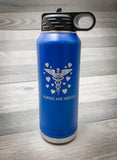 Nurses are Heroes 32oz. Water Bottle- Firebird Group, Inc.