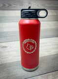 32oz. Laser Engraved Water Bottle- Firebird Group, Inc.