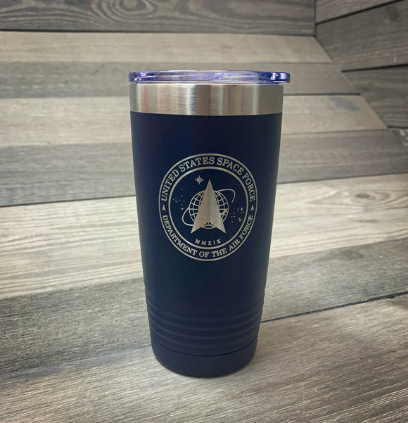 Space Force Tumbler