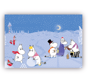 Table Mat - Moomin Winter-Rosie Sorrell-Rosie Sorrell