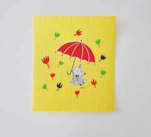 Dish Cloth - Little My Yellow (Moomins)
