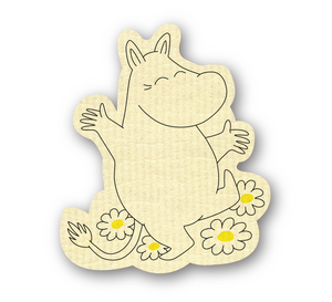 Dish Cloth - Moomin Shape