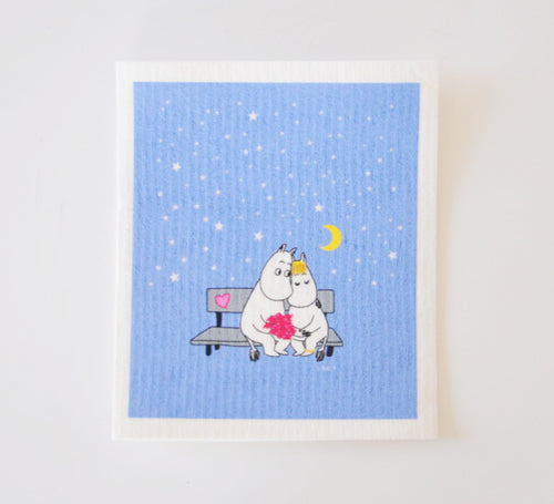 Dish Cloth - Moomin Love Evening-Rosie Sorrell