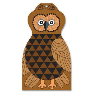 Cutting Board - ? The Owl-Rosie Sorrell-Rosie Sorrell