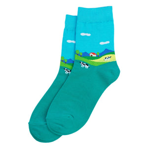 Socks - Farm Scene