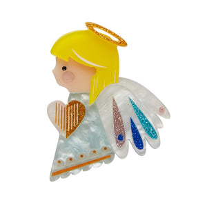 Erstwilder - Little Angel Brooch