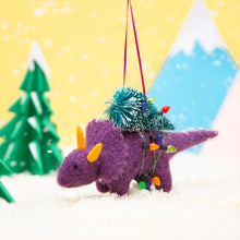 Hanging Decoration - Purple Dinosaur