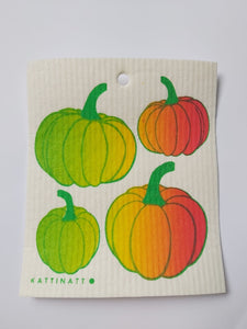 Dish Cloth - Pumpkins-Kattinatt-Rosie Sorrell