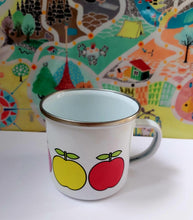 Enamel/Camping or Ceramic Mug - Rainbow Apples-Rosie Sorrell