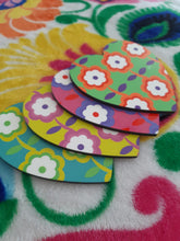 Coasters -Bright Flower (Set of 4)