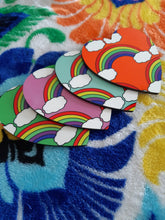 Coasters -Rainbows (Set of 4)