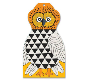 Chopping Board - Owl Brown-Lisa Larson-Rosie Sorrell