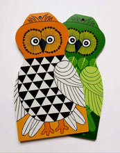 Chopping Board - Angelica the Owl Green-Rosie Sorrell