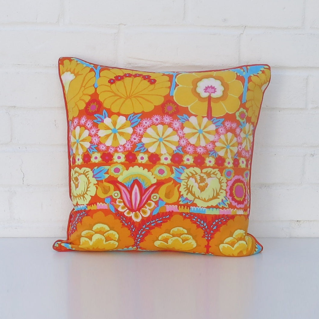 Cushion Cover - Kaffe Fassett, Orange-Rosie Sorrell-Rosie Sorrell