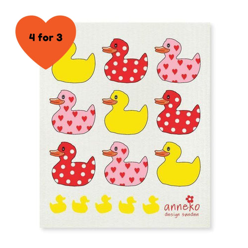Dish Cloth - Ducks-Anneko Design Sweden-Rosie Sorrell