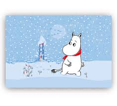 Table Mat - Moomin Snow